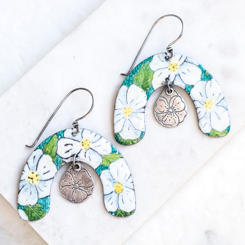 Floral Arch Earrings