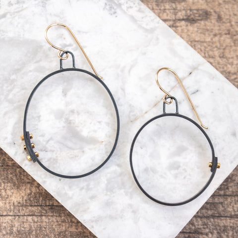 GF Simple Hoops w/ Rivets