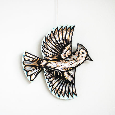 Titmouse | Hand Carved in Wood