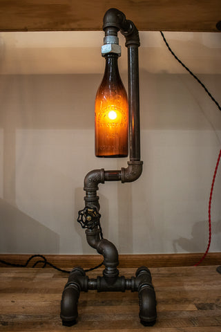 Fuse lll Brewery Bottle Lamp | Amber