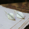 Dream Leaf Earrings - Artisan's Bench