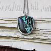 My Anti-Bad Vibe Shield Turquoise Necklace - Artisan's Bench