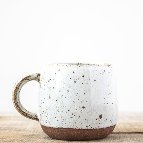 Speckled Mug | White