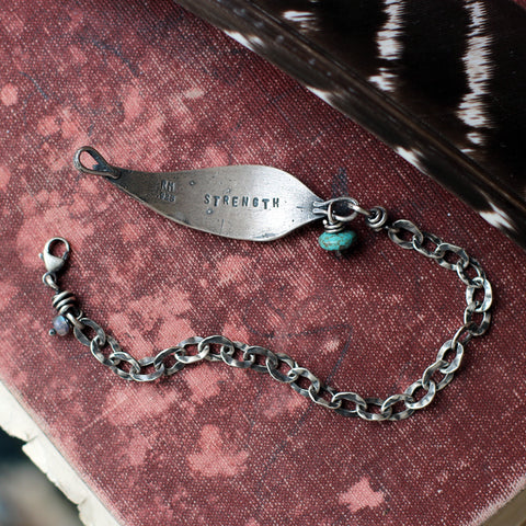 Strength Feather Bracelet