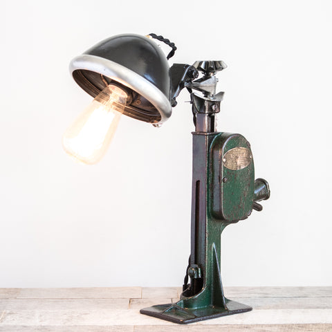 Car Jack Table Lamp