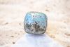 Size 8.25 | Leland Blue Square Ring