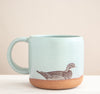 Black Cat Square Tray