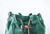 Waxed Canvas Bucket Bag | Forest Green