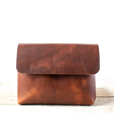 Mini Montana Satchel | Bourbon