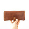 Minimalist Leather Wallet | Bourbon