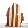 Michigan Cutting Board | Striped