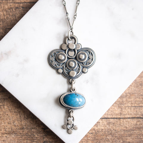 Leland Blue Infinite Necklace