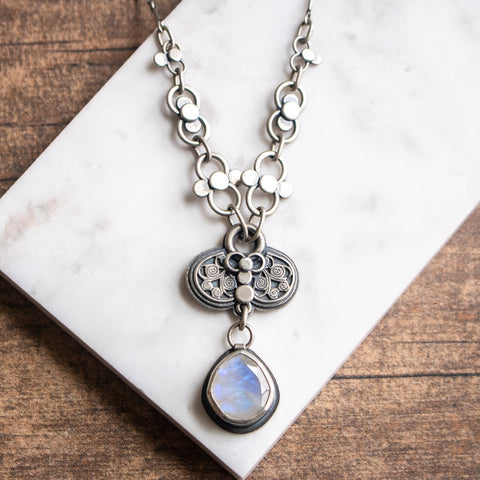 Moonstone Infinite Necklace