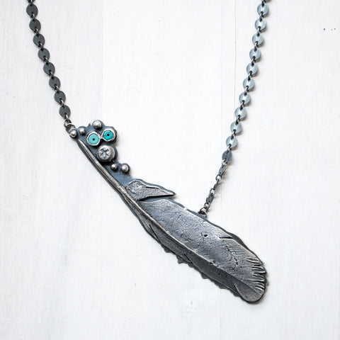 Feather Necklace - Artisan's Bench