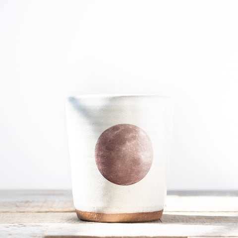 Full Moon Tumbler | Oatmeal