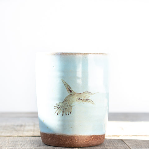 Hummingbird Tumbler | Light Blue