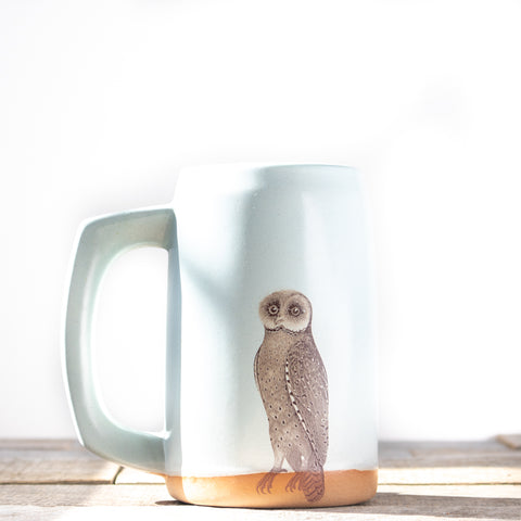 Owl Stein | Light Blue