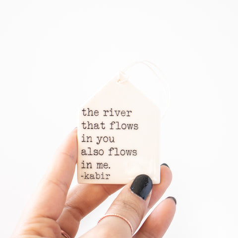 River That Flows Tag