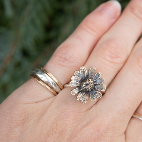Size 9 | Bronze Chamomile Ring