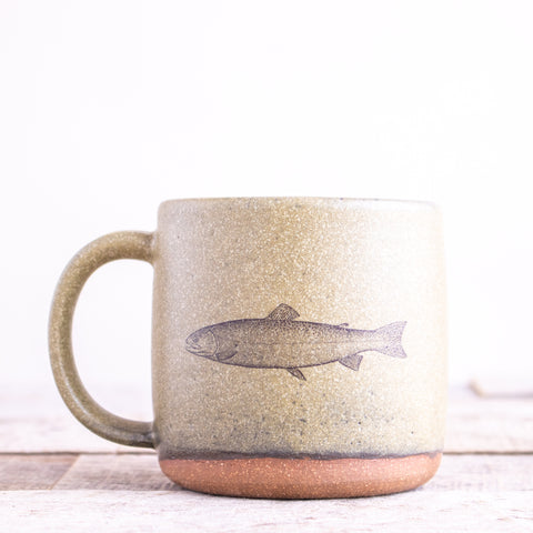 Trout Coffee Mug | Green