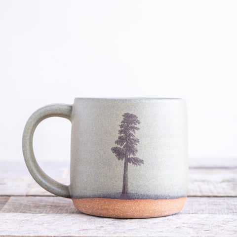 Sequoia Tree Coffee Mug | Green