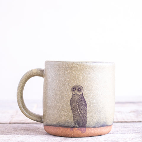 Owl Coffee Mug | Green