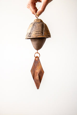 Ceramic Wind Chime | 1 Small Bell