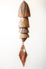 Ceramic Wind Chime | 2 Medium 2 Small Bells