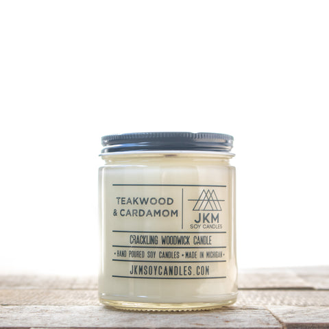 Teakwood + Cardamom Candle
