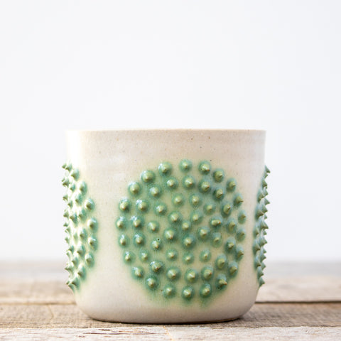 Full Moon Turquoise Planter | Small
