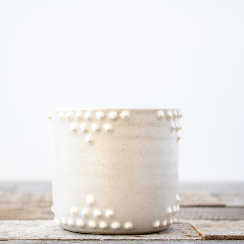 Canyon White Planter | Small