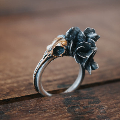 Mindset of a Magpie Ring - Artisan's Bench