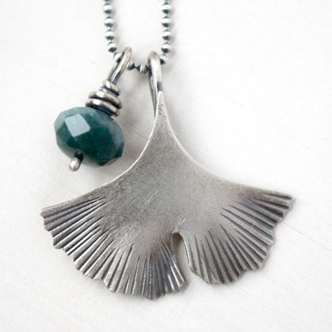 Endure Gingko Agate Necklace