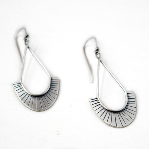 Be Kind Silver Earrings - Artisan's Bench