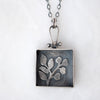 Elderberry Shadowbox Necklace - Artisan's Bench