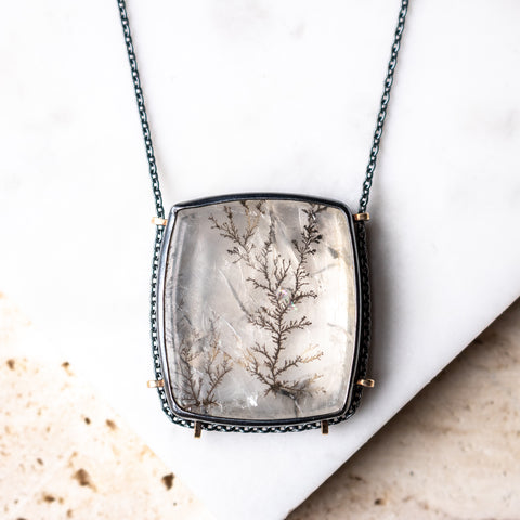 Dendritic Quartz Necklace