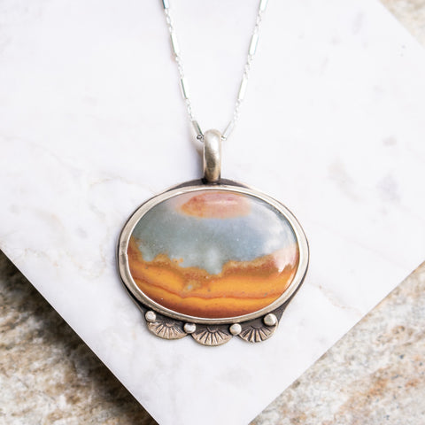 Landscape Jasper Necklace