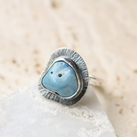Size 8 | Leland Blue Stone Ring