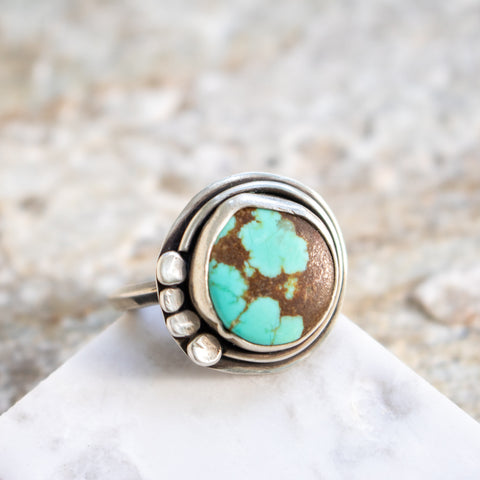 Size 9 | No. 8 Turquoise Ring