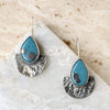 Leland Blue Half Moon Earrings