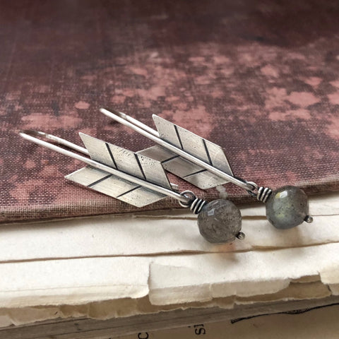 Fly Free Arrow Earrings - Artisan's Bench