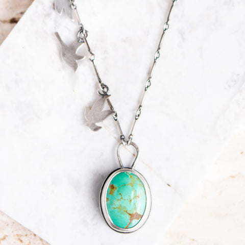 Turquoise Murmuration Necklace