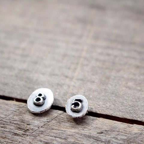 Tiny Number Studs (5&8)
