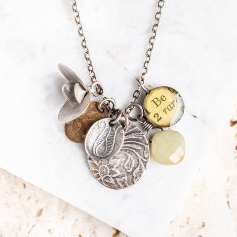 Gold Token Necklace