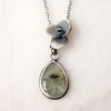 Prehnite Succulent Necklace no.1 - Artisan's Bench
