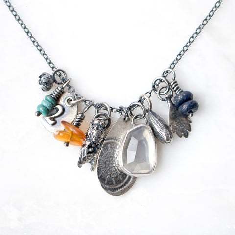 Life In Pieces Necklace no.2 - Artisan's Bench
