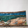 Georgian Bay Shore | Drawing on Wood