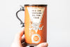 Oil Can Mug | Orange Ford
