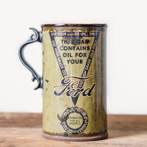 Oil Can Mug | Green Ford