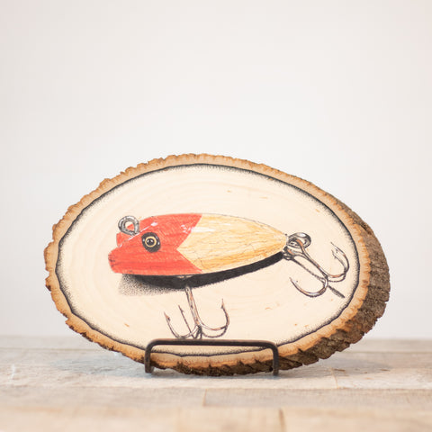 The Lure | Drawing on Wood